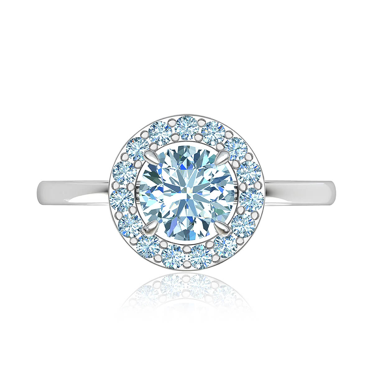 Charmaine Halo Diamond Ring