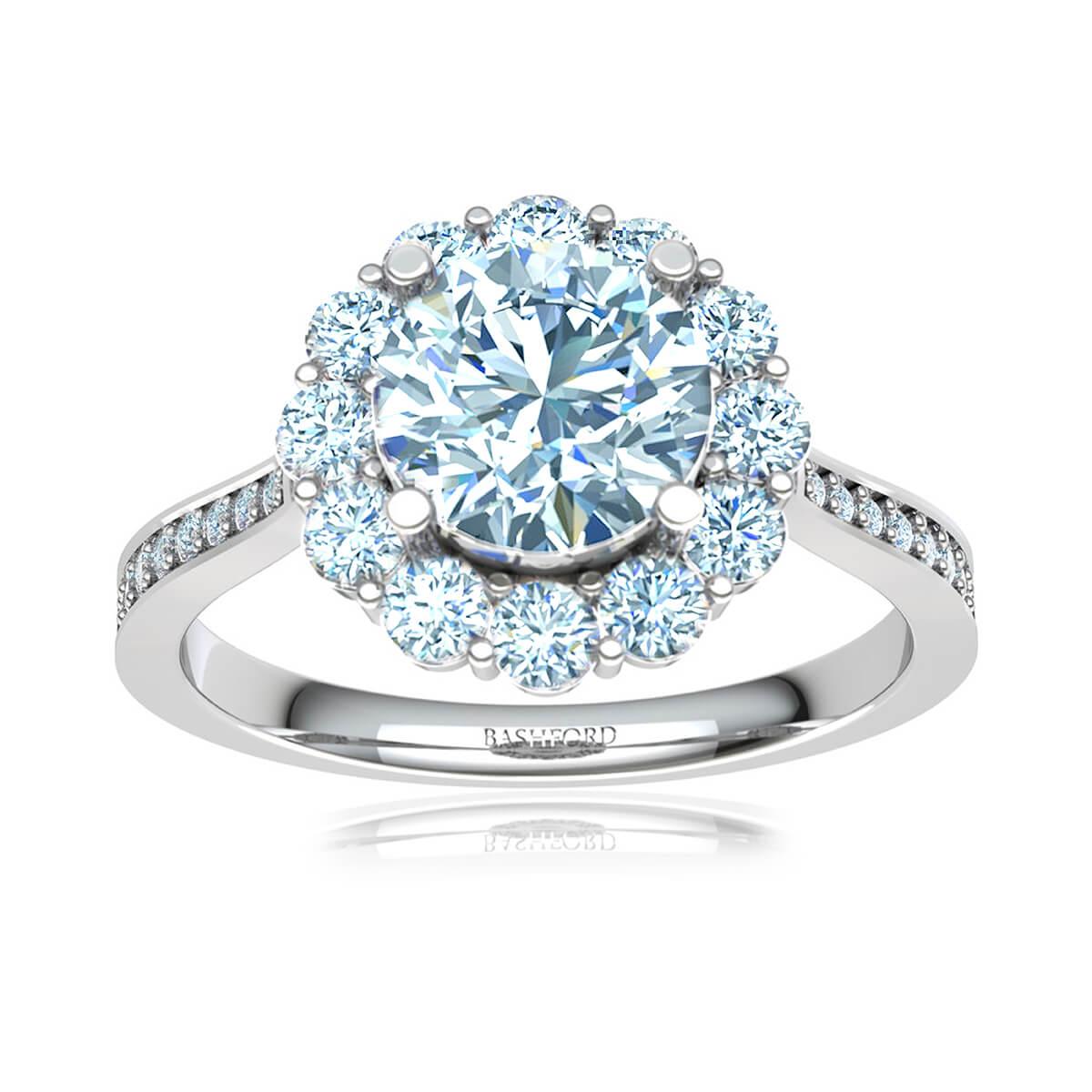 Fleur Blossom Diamond Ring