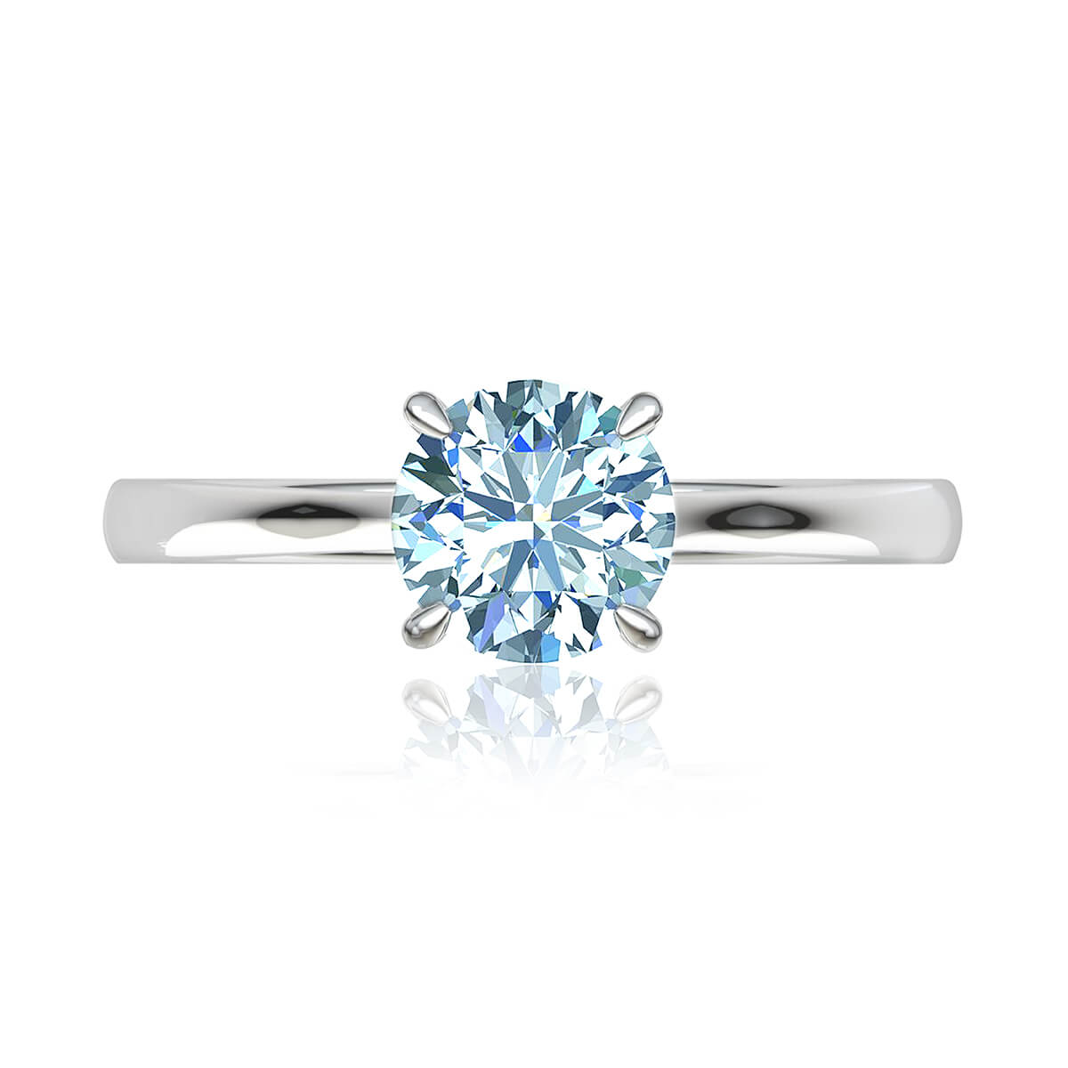 Alya Moissanite Ring