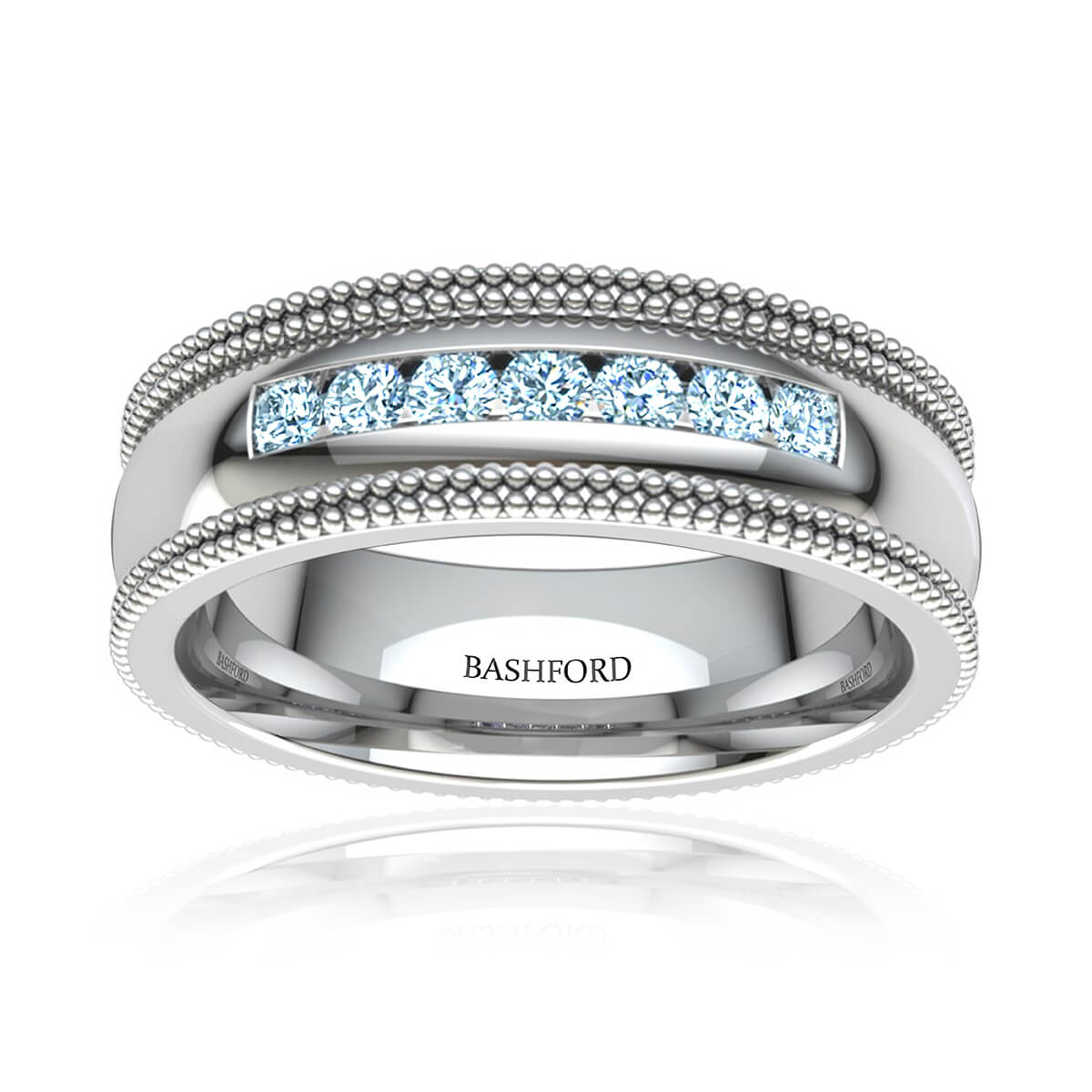 Rainier Diamond Wedding Band (1/4 CT. TW.)