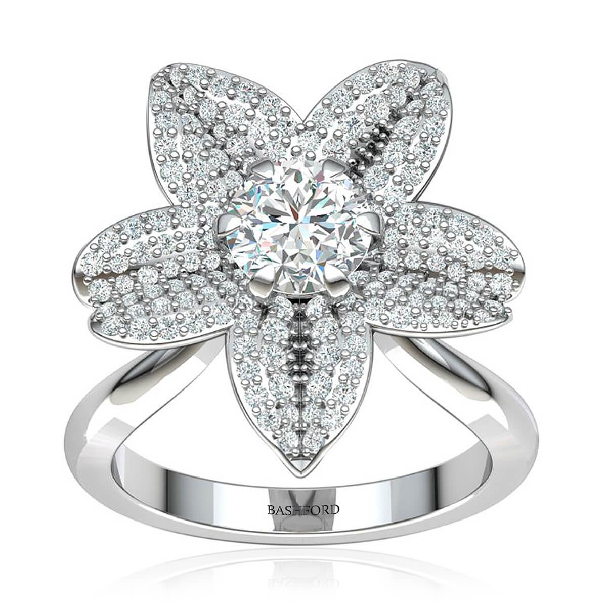The Daffodil Diamond Ring