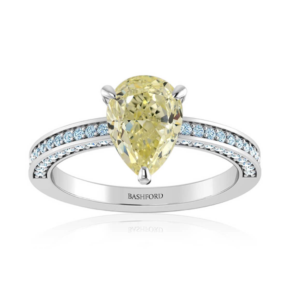 Buttercup Diamond Ring