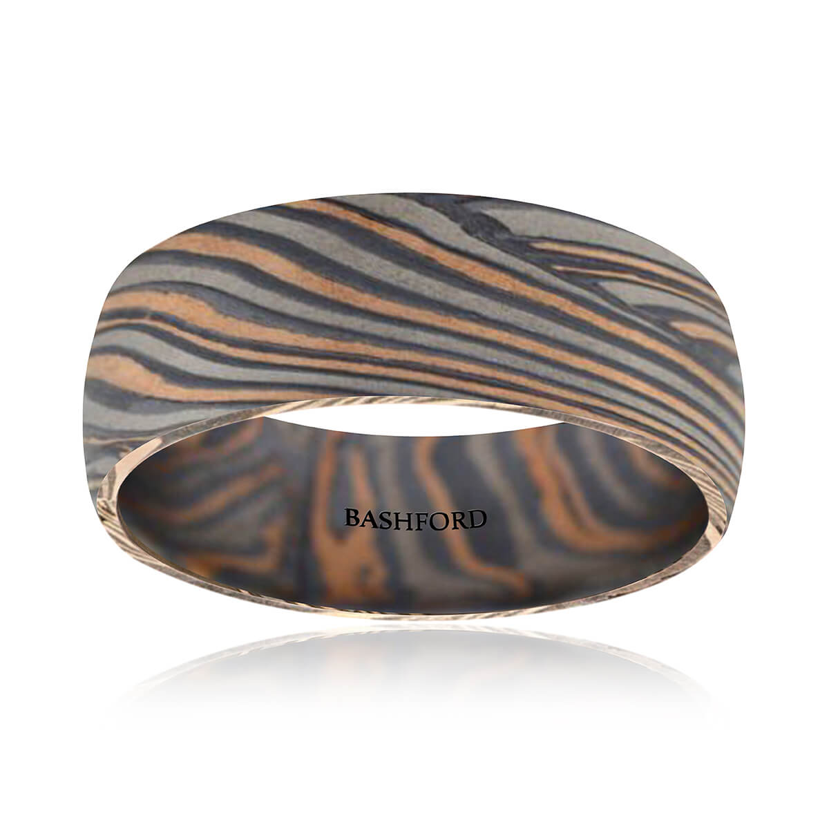 Chapada Mokume Wedding Band (7 mm)