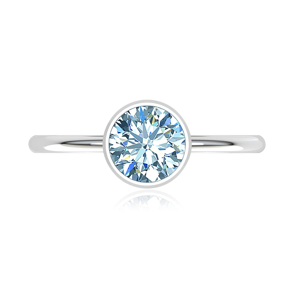 Electra Moissanite Ring