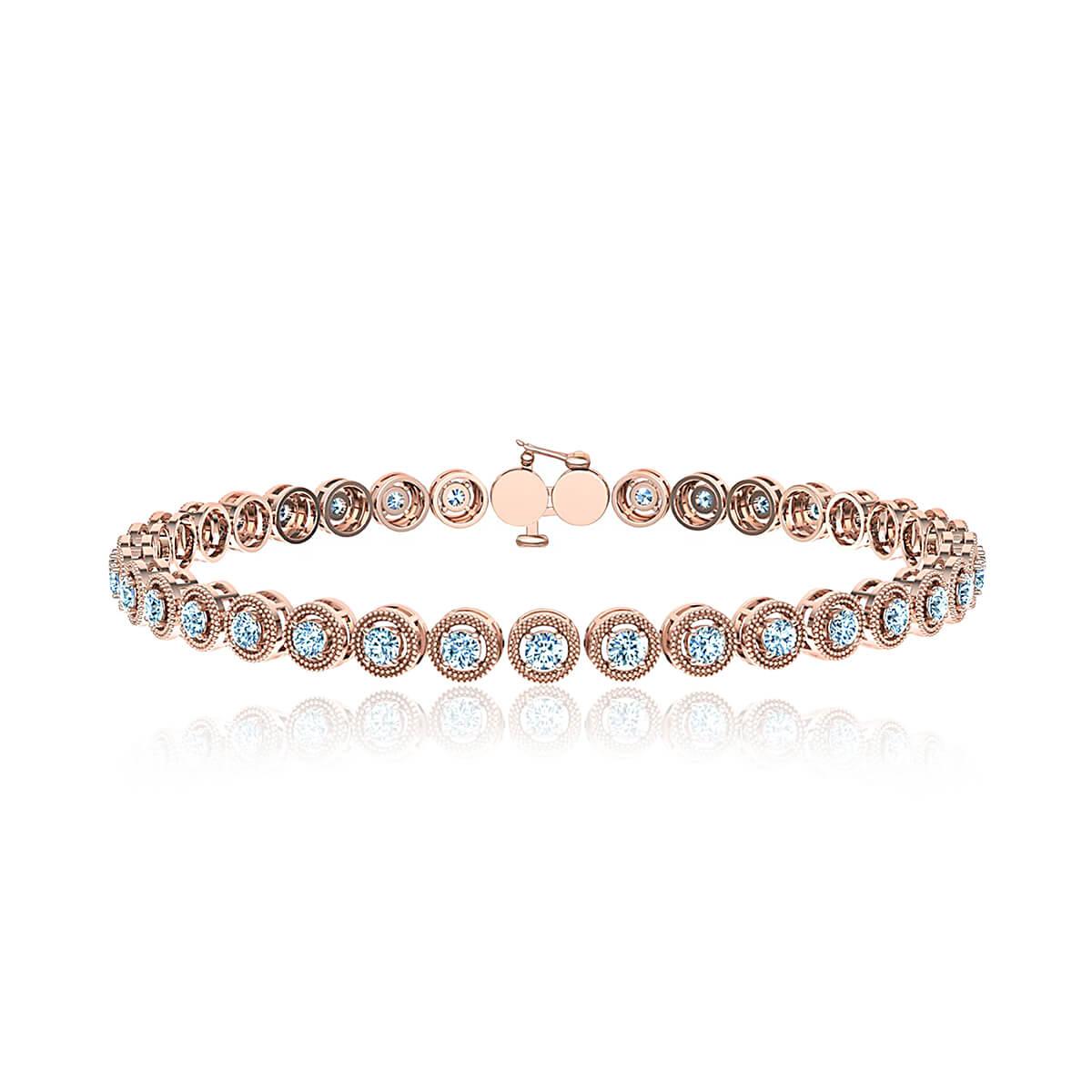 Lalarusa Diamond Tennis Bracelet (1 CT. TW.)