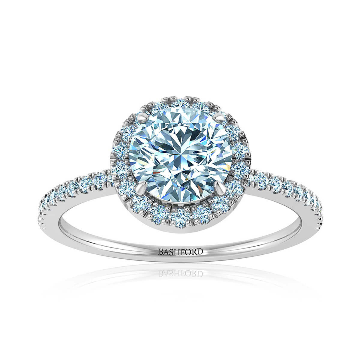 Hibiscus Diamond Ring