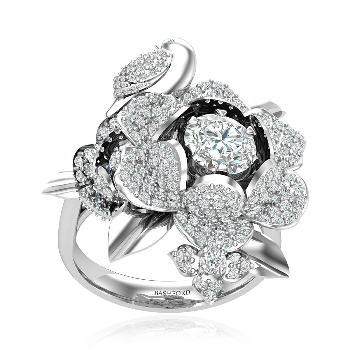The Paradise Bird Diamond Ring