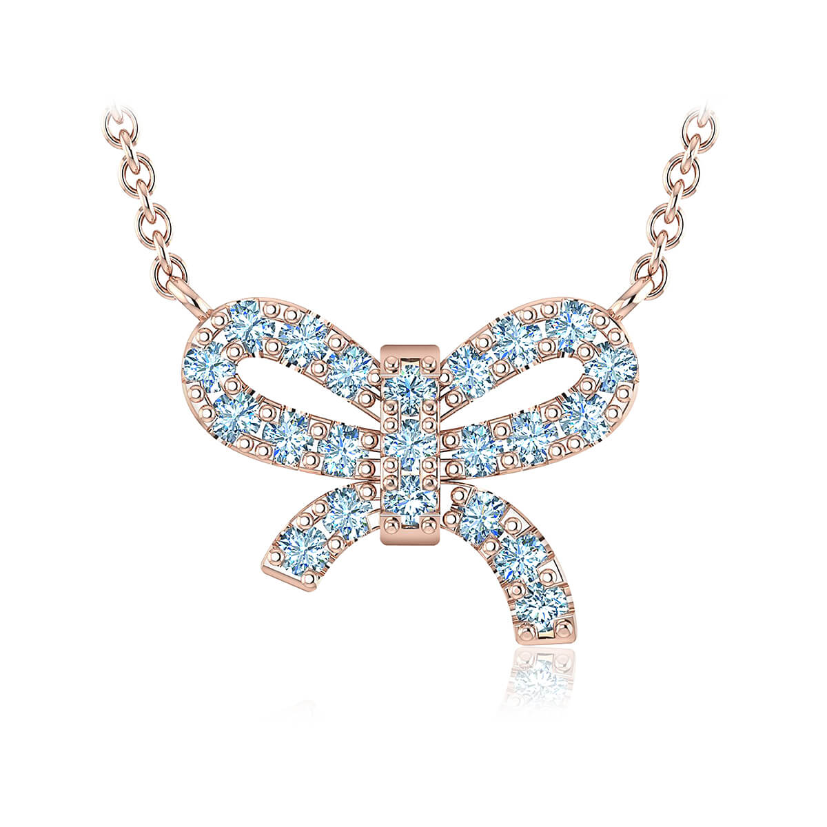 Mon trésor Diamond Necklace (1/6 CT. TW.)