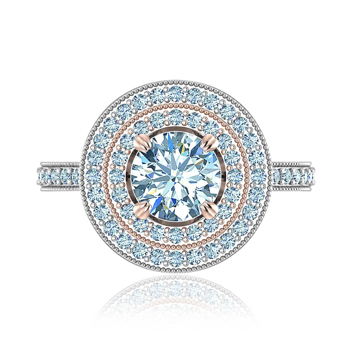 Mallow Diamond Ring