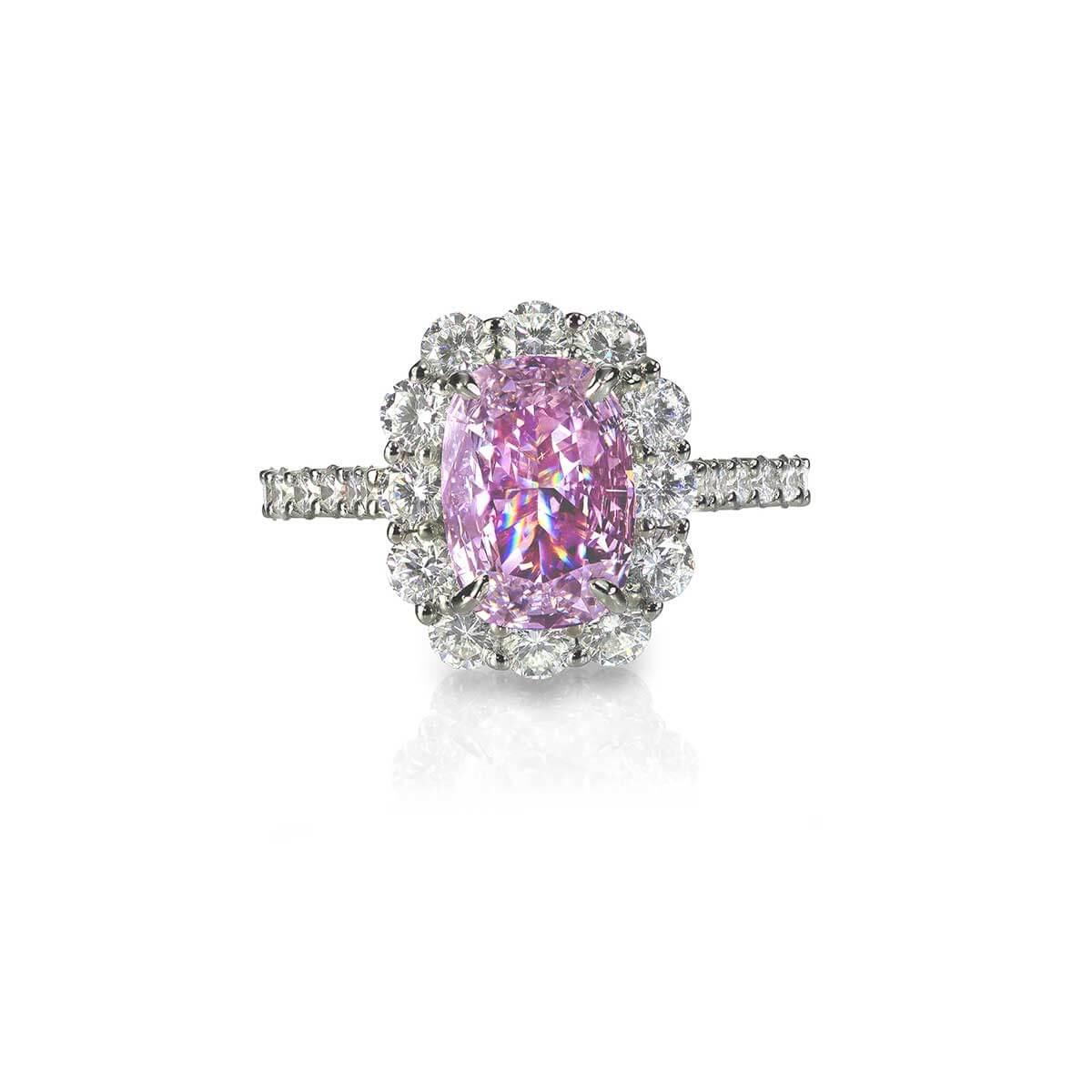 Serenity Pink Diamond Ring
