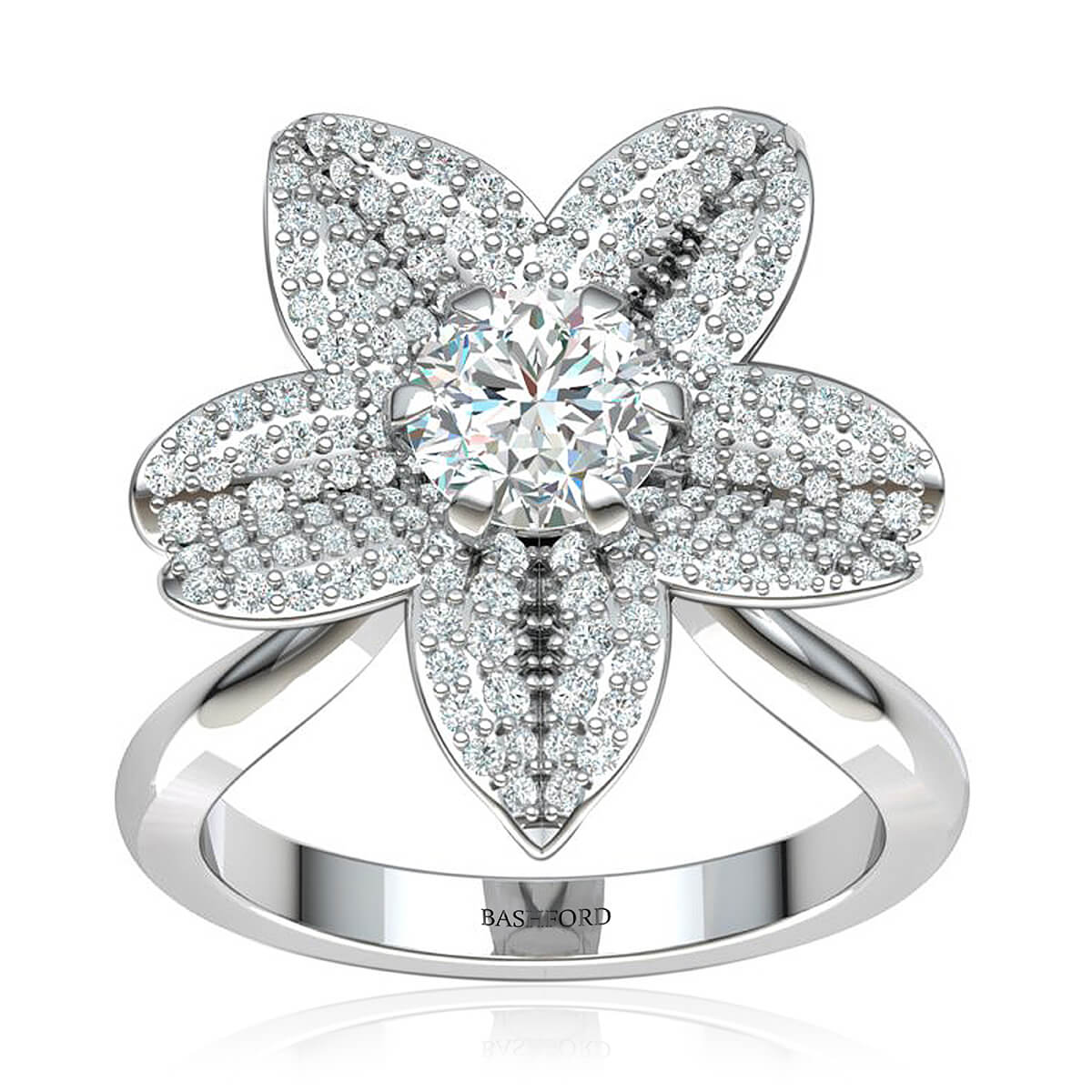 The Daffodil Diamond Ring