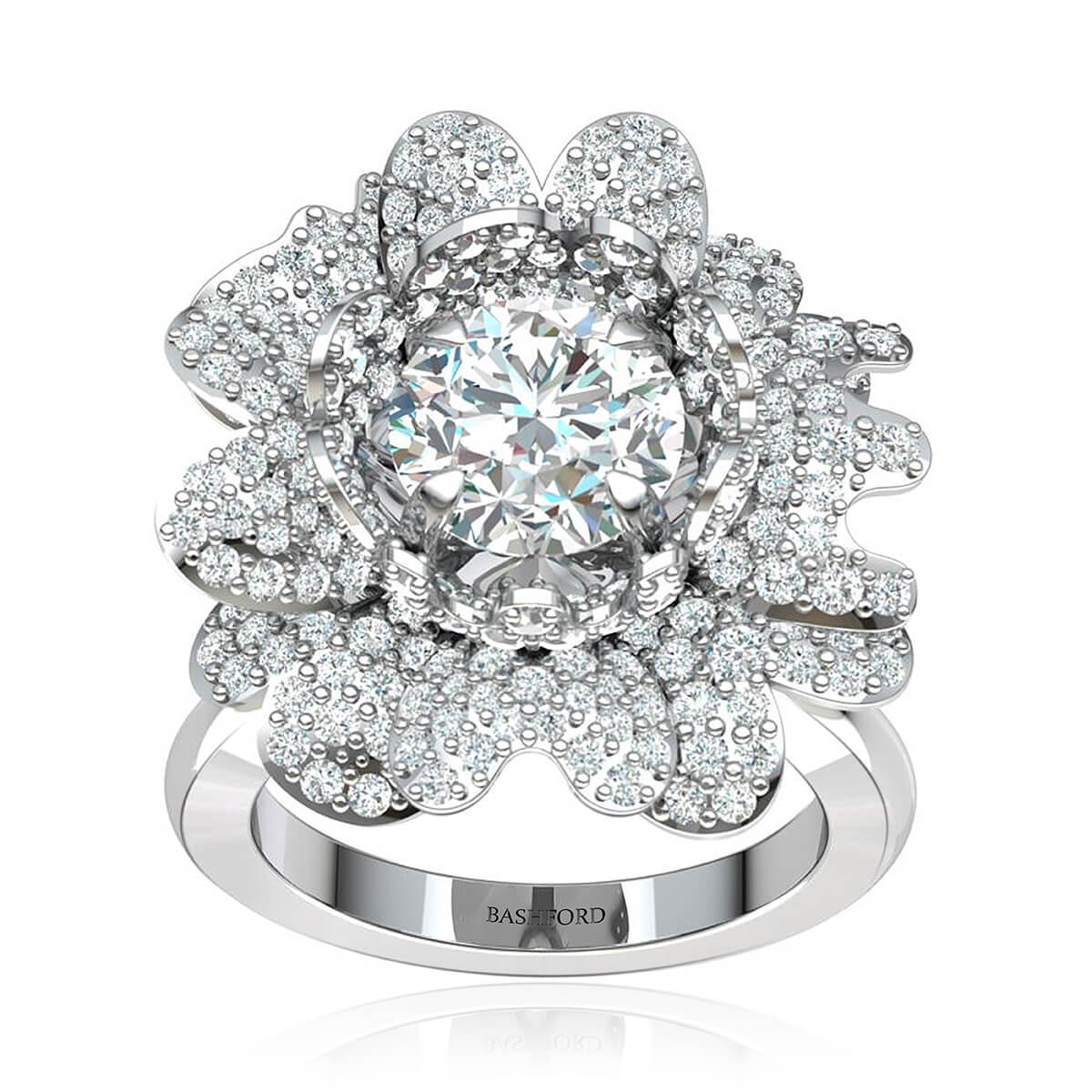 The Daisy Diamond Ring