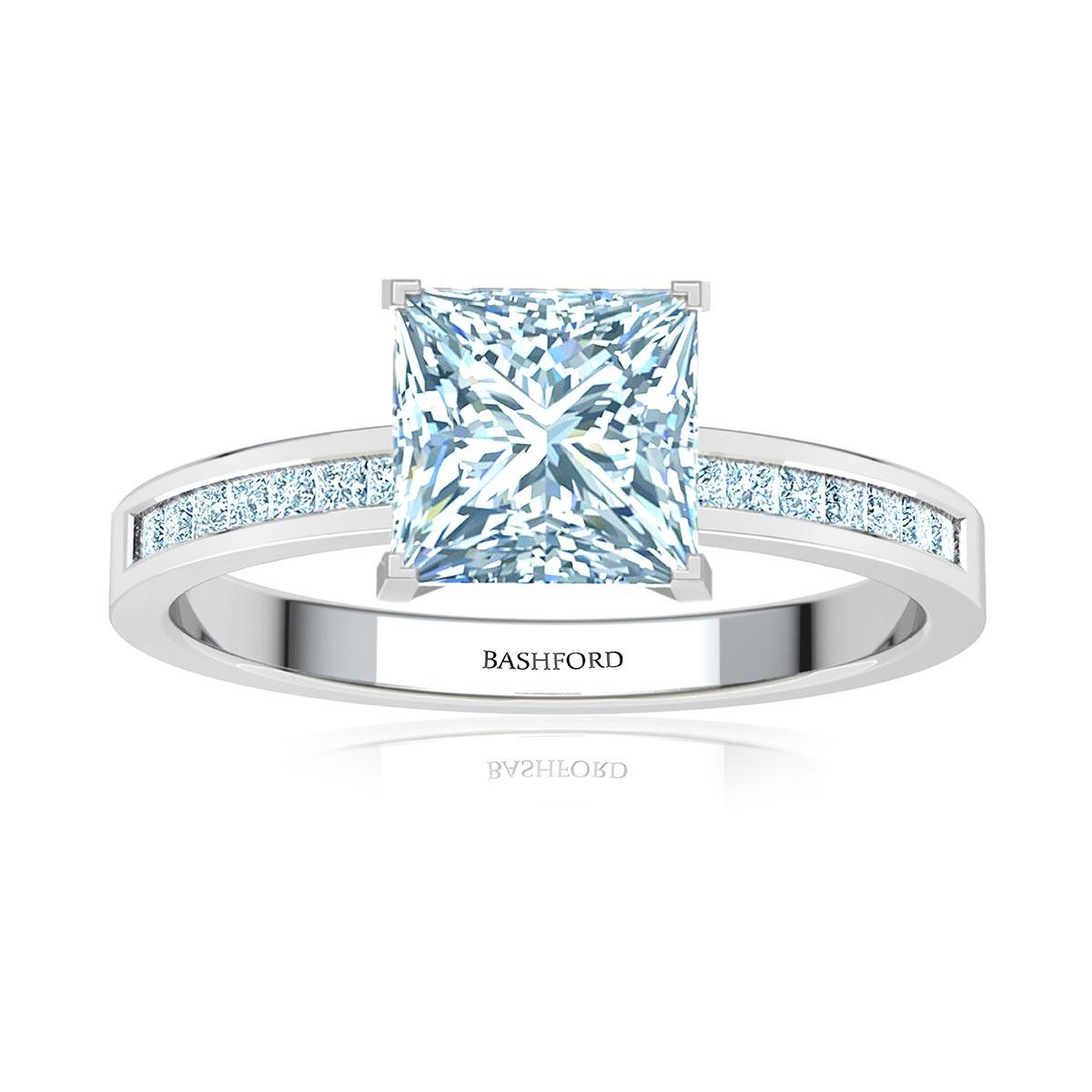 Hazel Diamond Ring