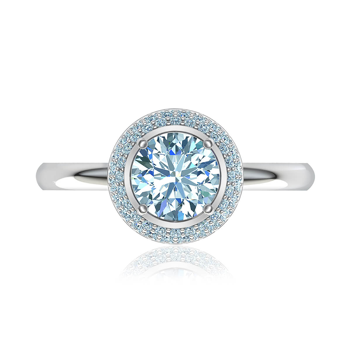 Susara Moissanite Ring
