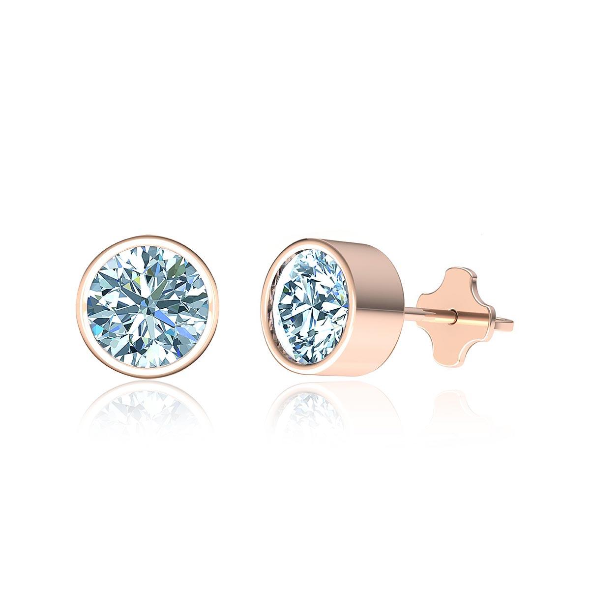 Shooting Star Diamond Stud Earrings (1/2 CT. TW.)