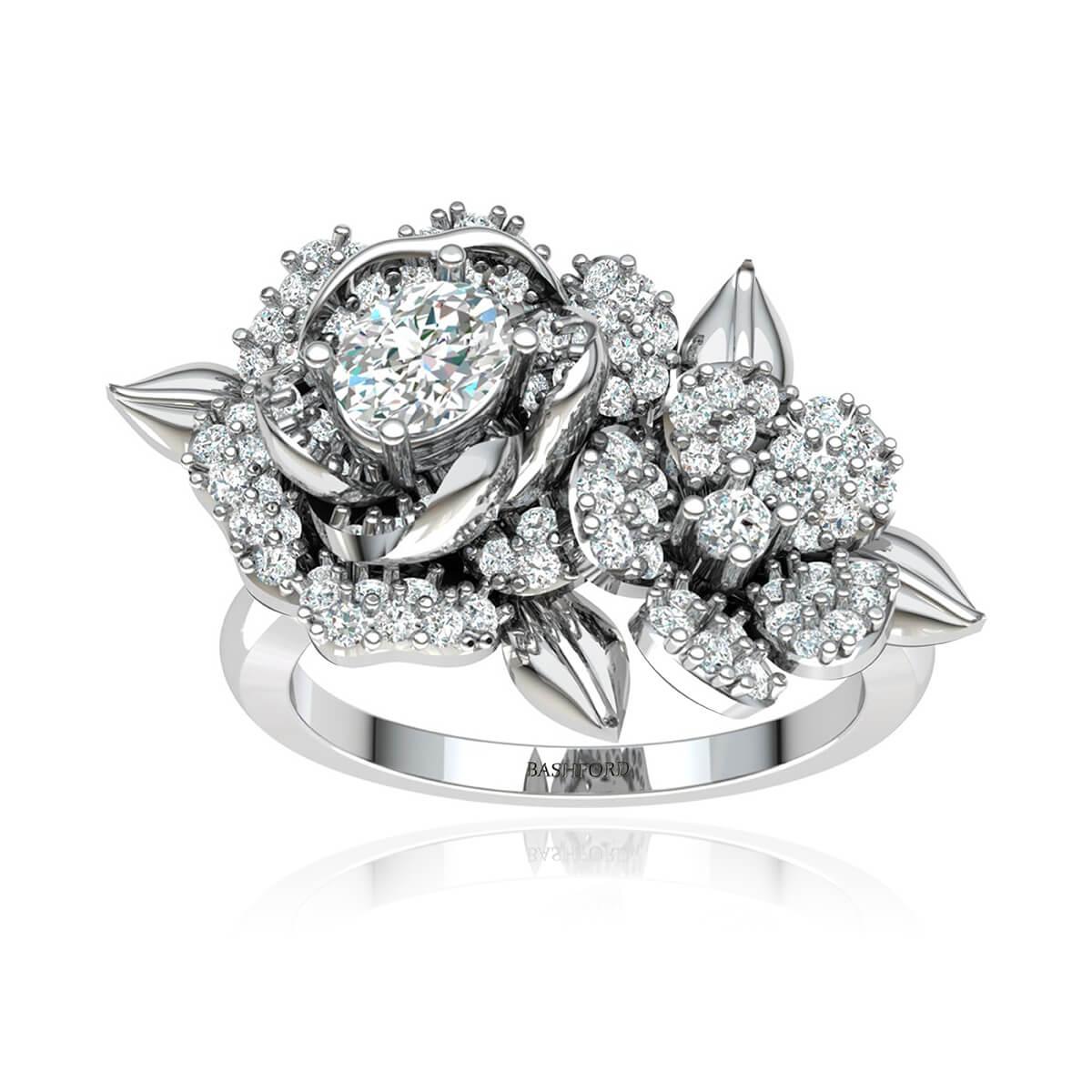 The Gardenia Diamond Ring