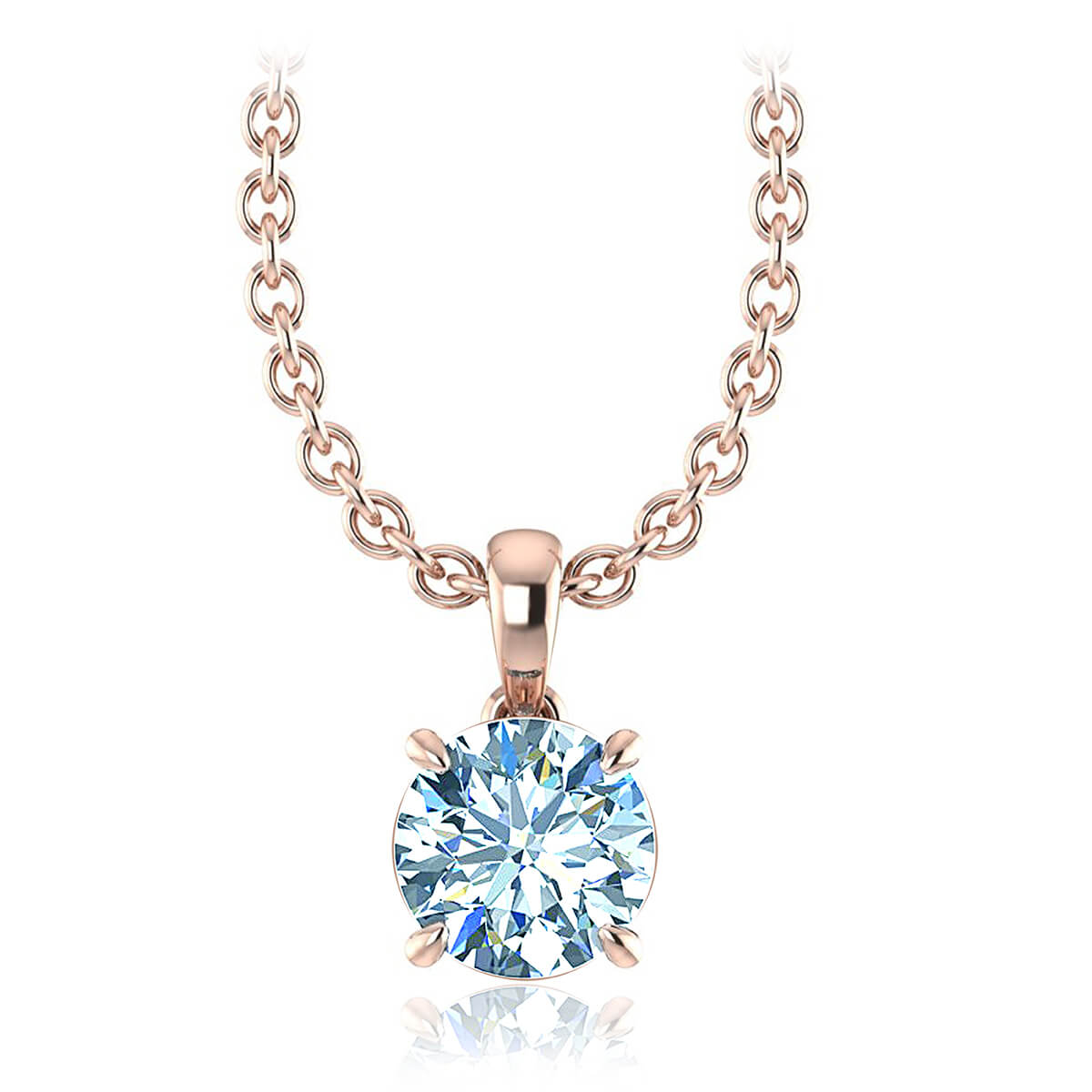 Lesath Diamond Necklace  (2 CT. TW.)