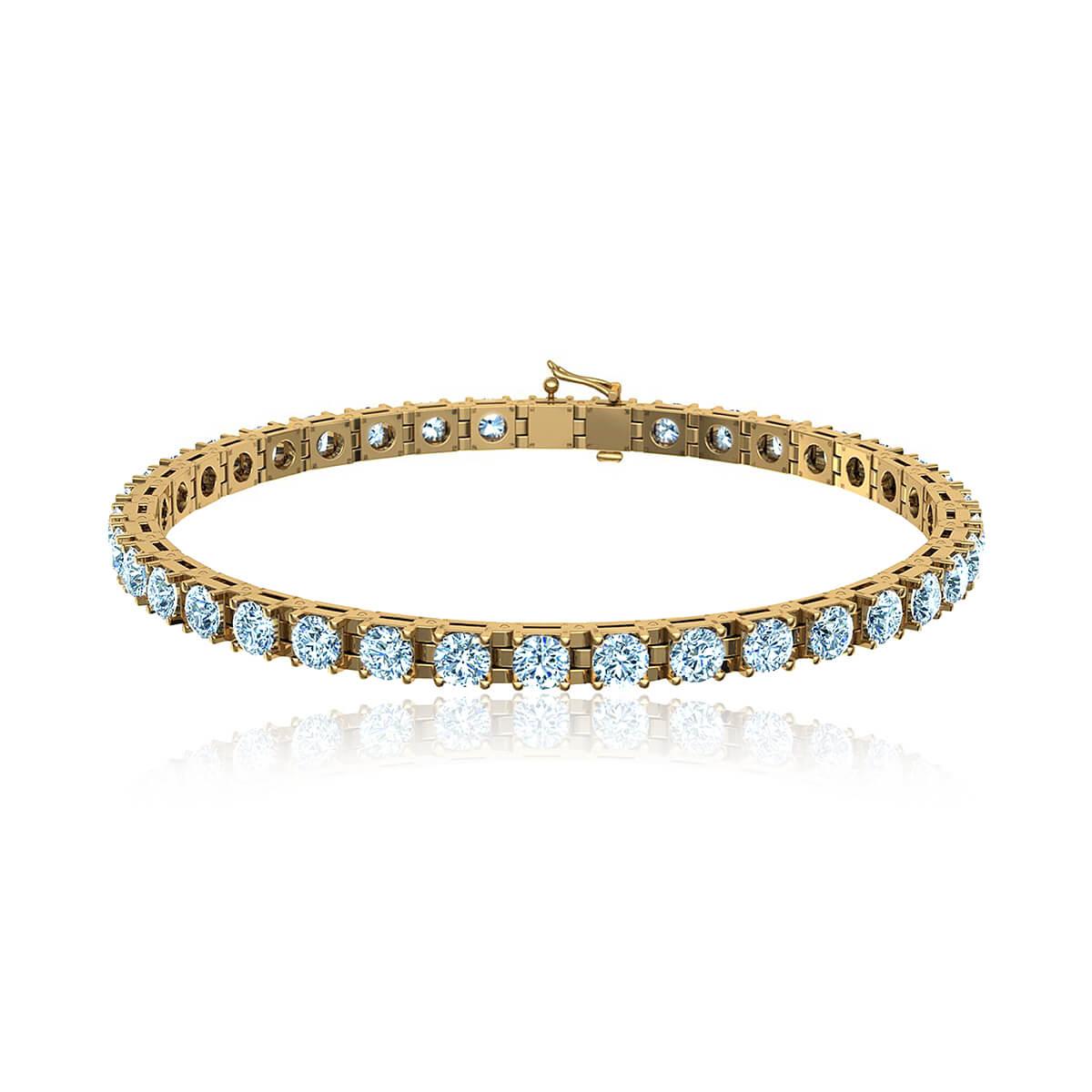 Primula Diamond Tennis Bracelet  (3 3/8 CT. TW.)