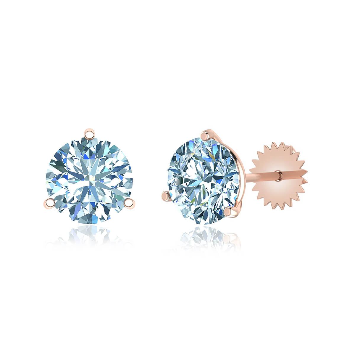 Camelopardalis Diamond Earrings  (1 CT. TW.)