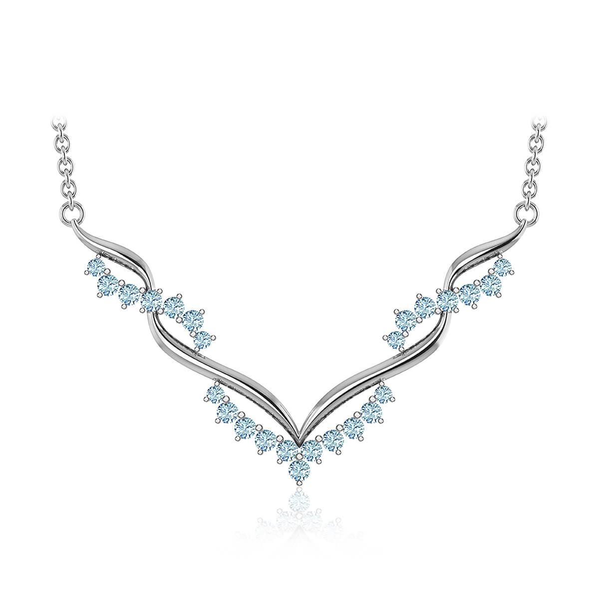 Adrasteia Diamond Necklace (5/8 CT. TW.)
