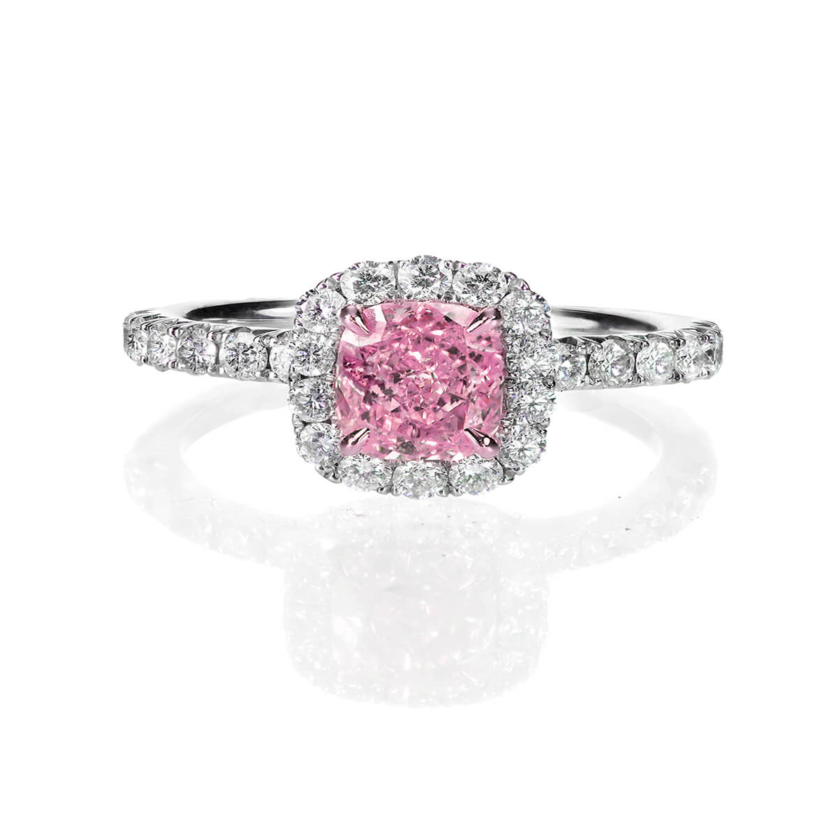 Valencia Pink Diamond Ring