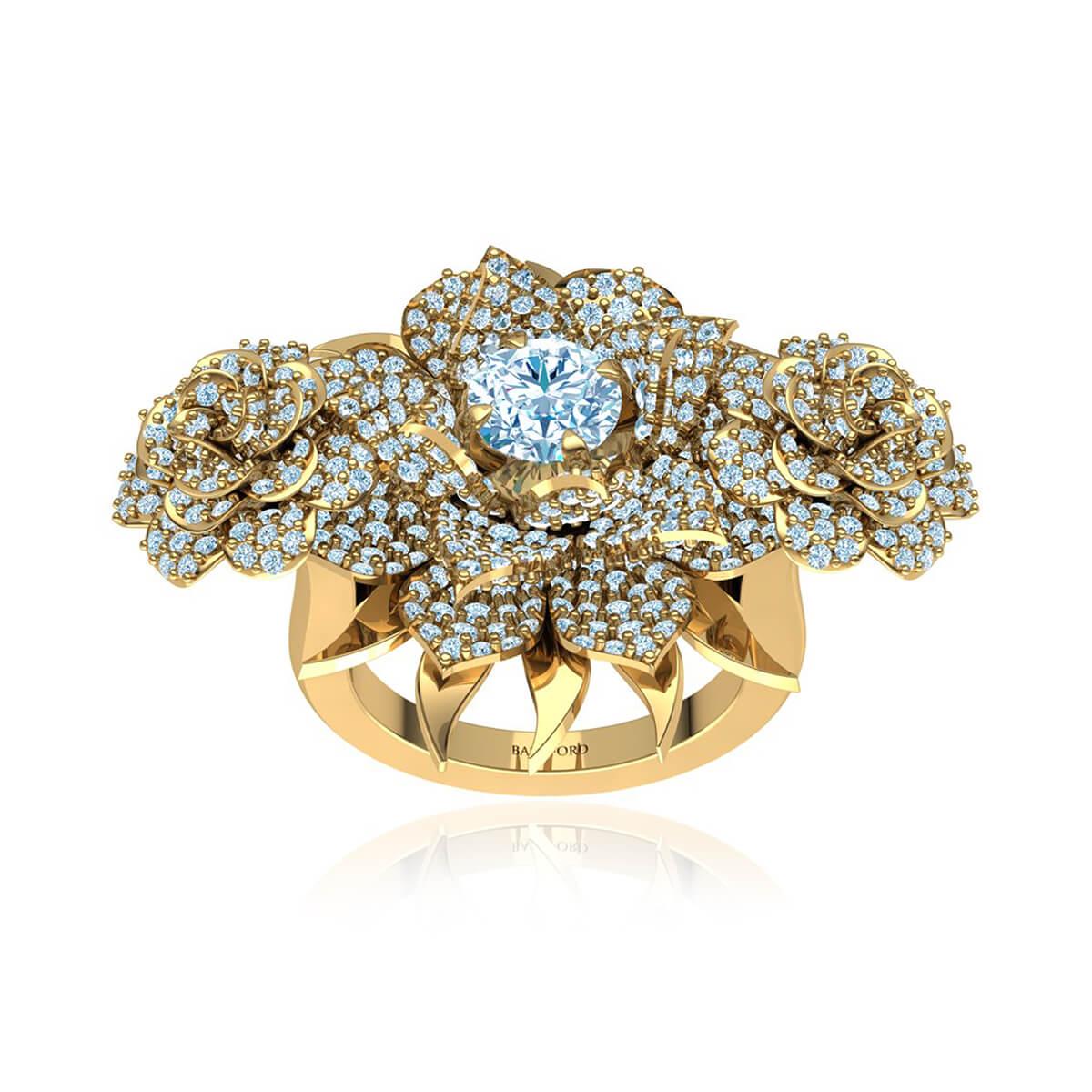 The Magnolia Diamond Ring