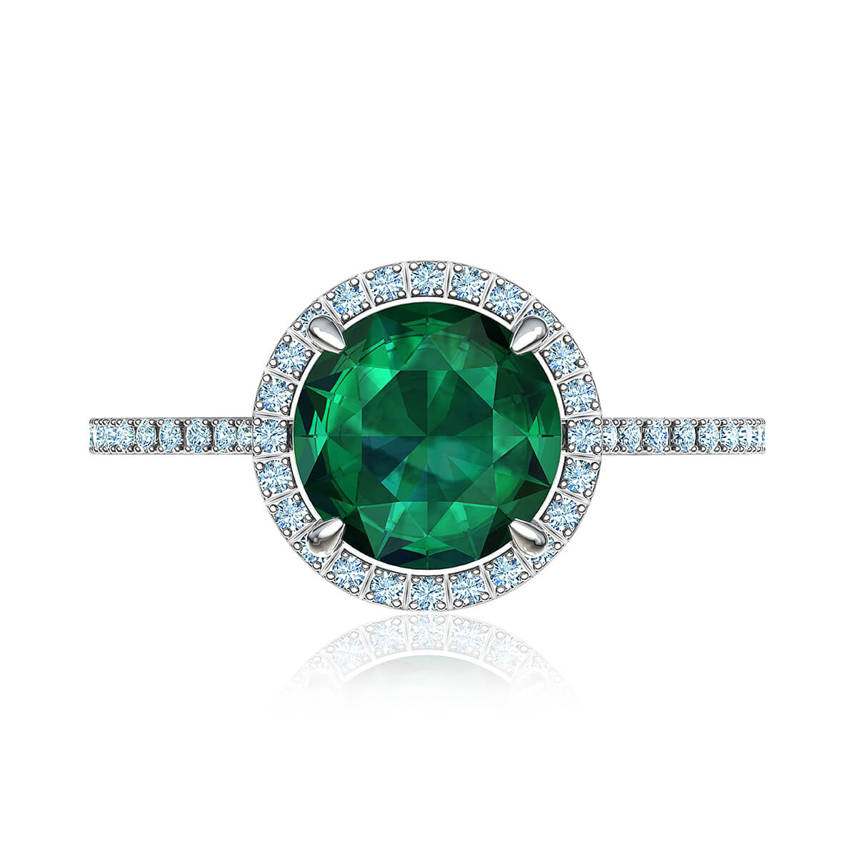 Lolita Emerald & Diamond Ring