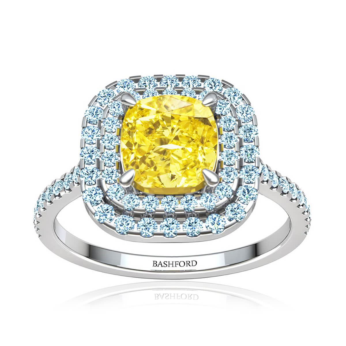 Eloisa Yellow Diamond Ring