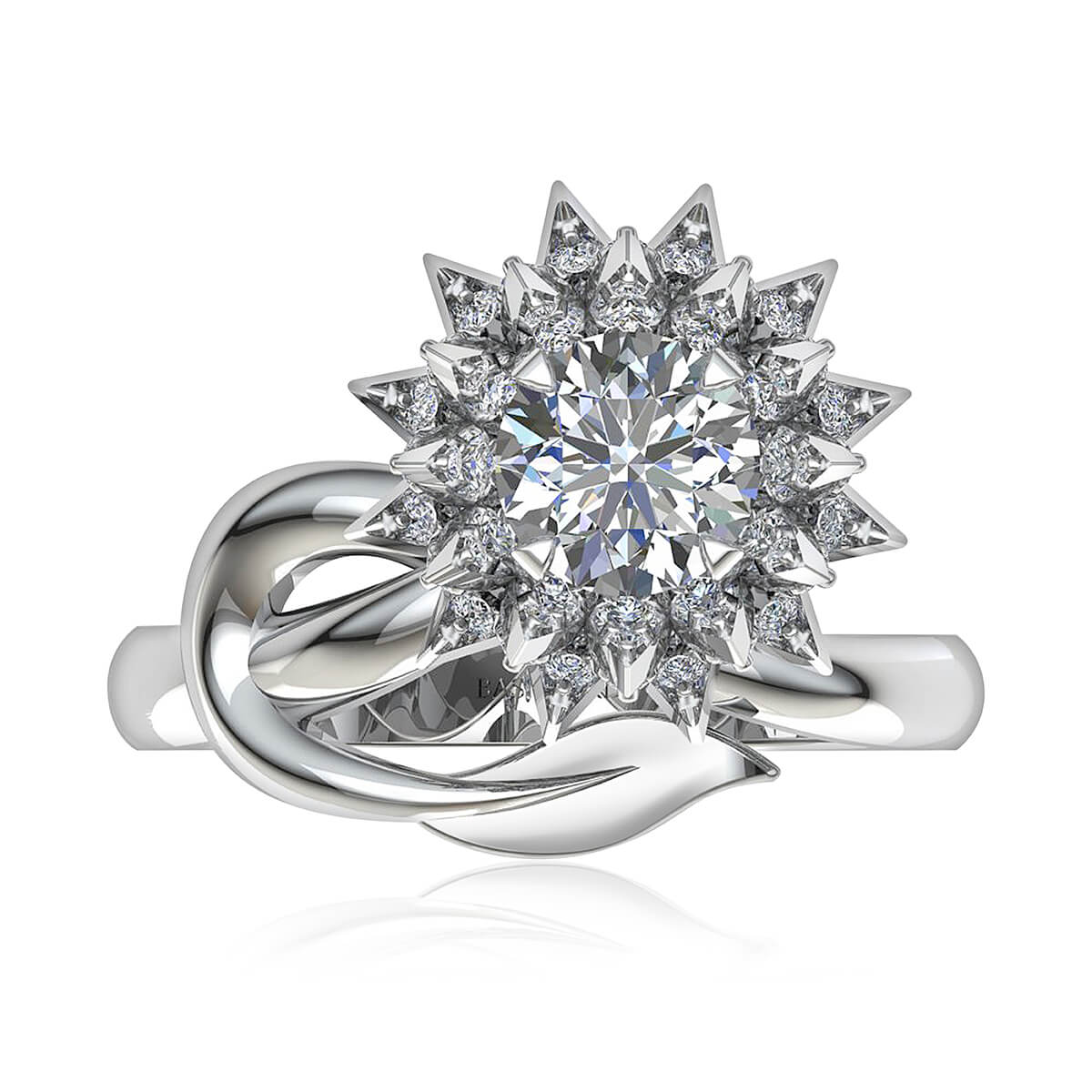 The Dahlia Diamond Ring