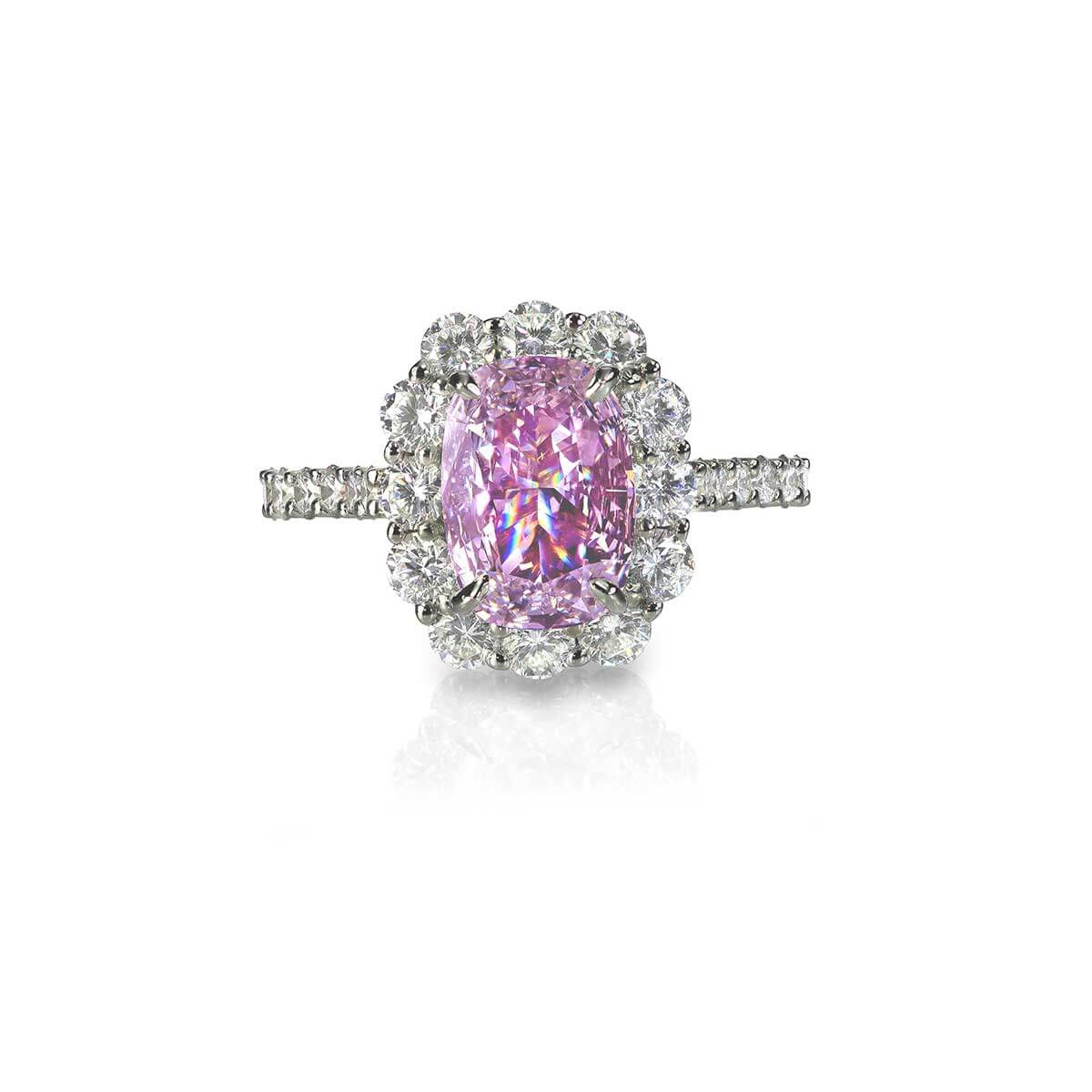 Serenity Pink Diamond Ring