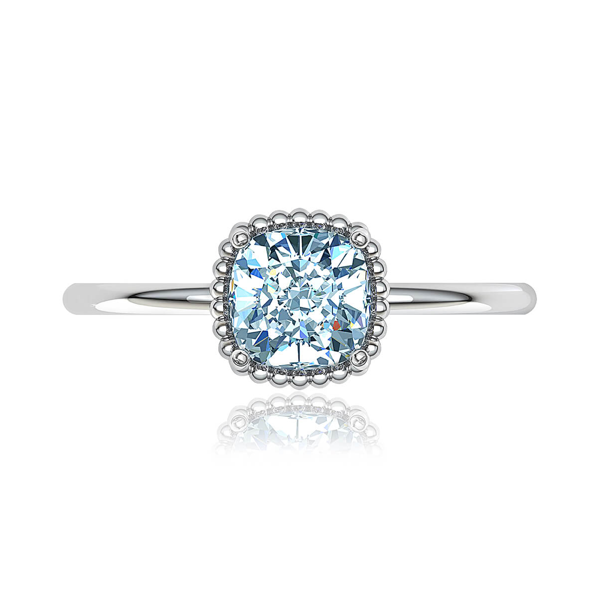 Rosarica Moissanite Ring