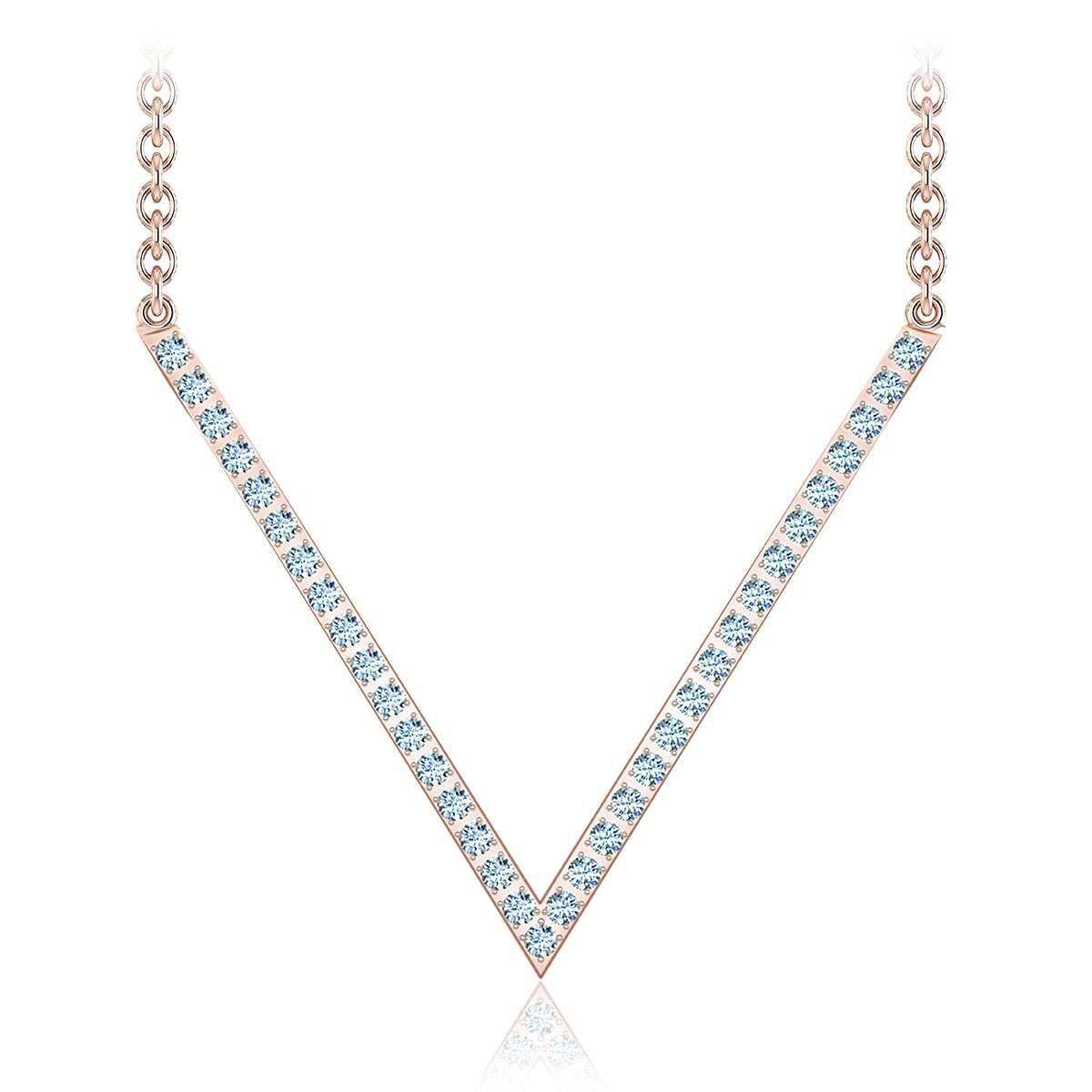 Vivre Diamond Necklace  (1/6 CT. TW.)