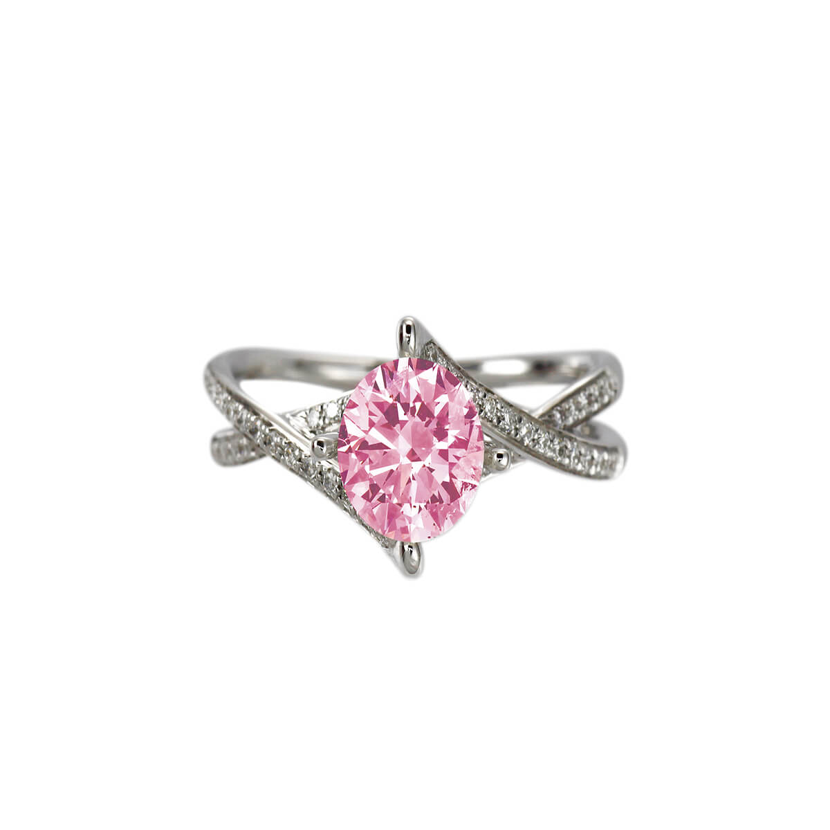 Anastasia Pink Diamond Ring