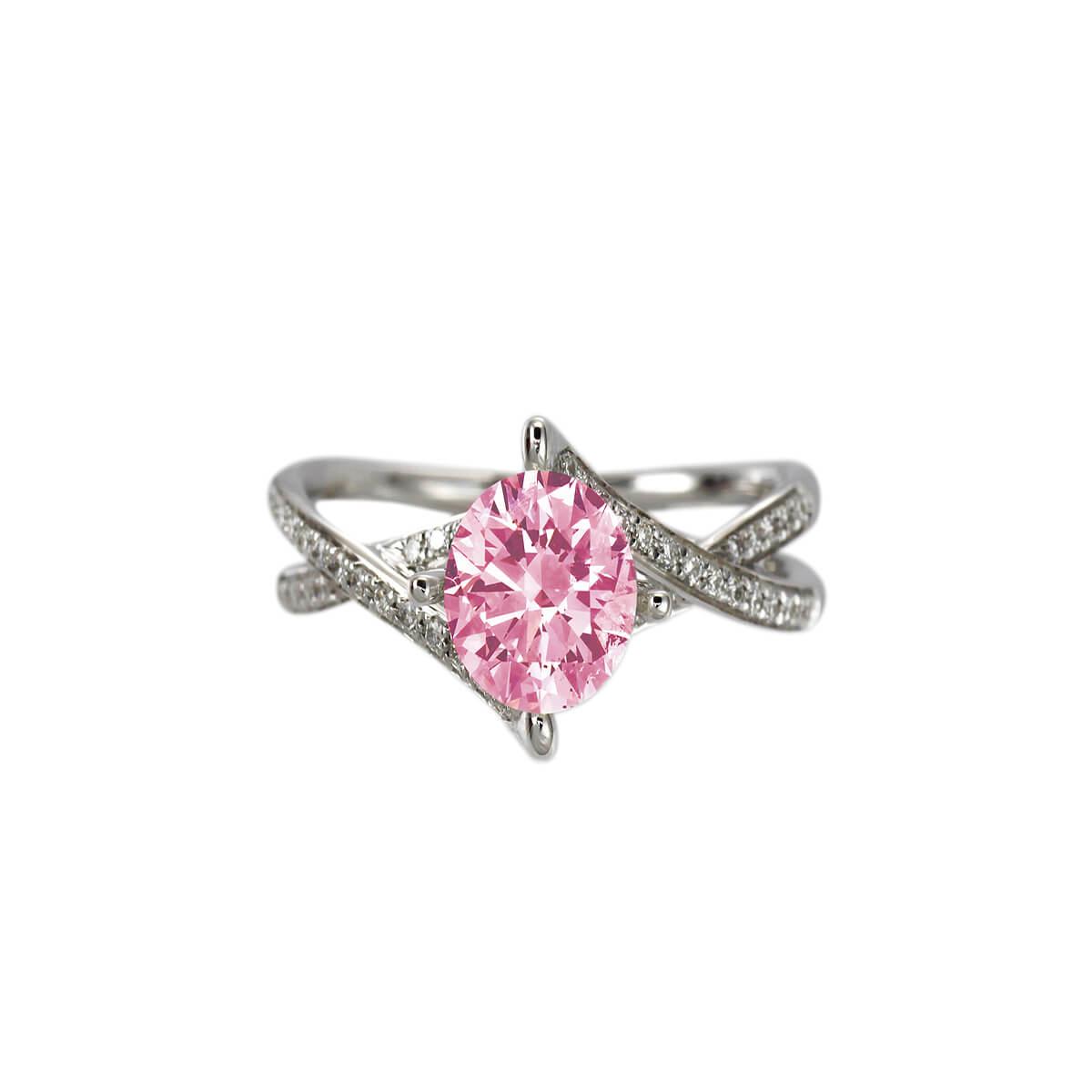 Anastasia Pink Diamond Ring