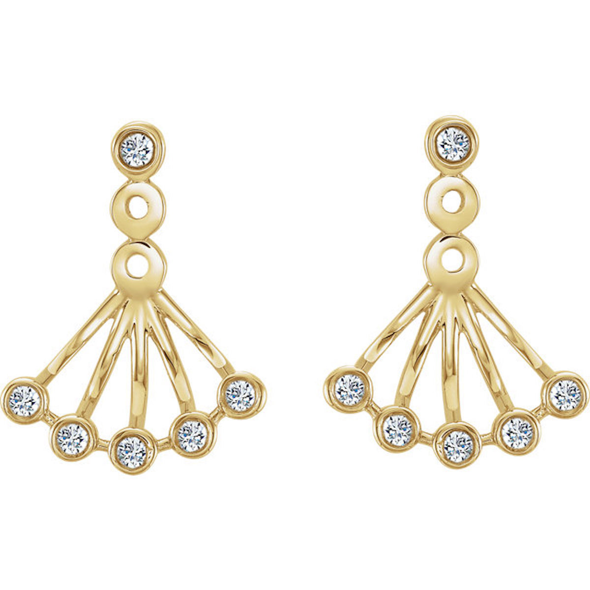 1/6 Ctw. Diamond Earrings