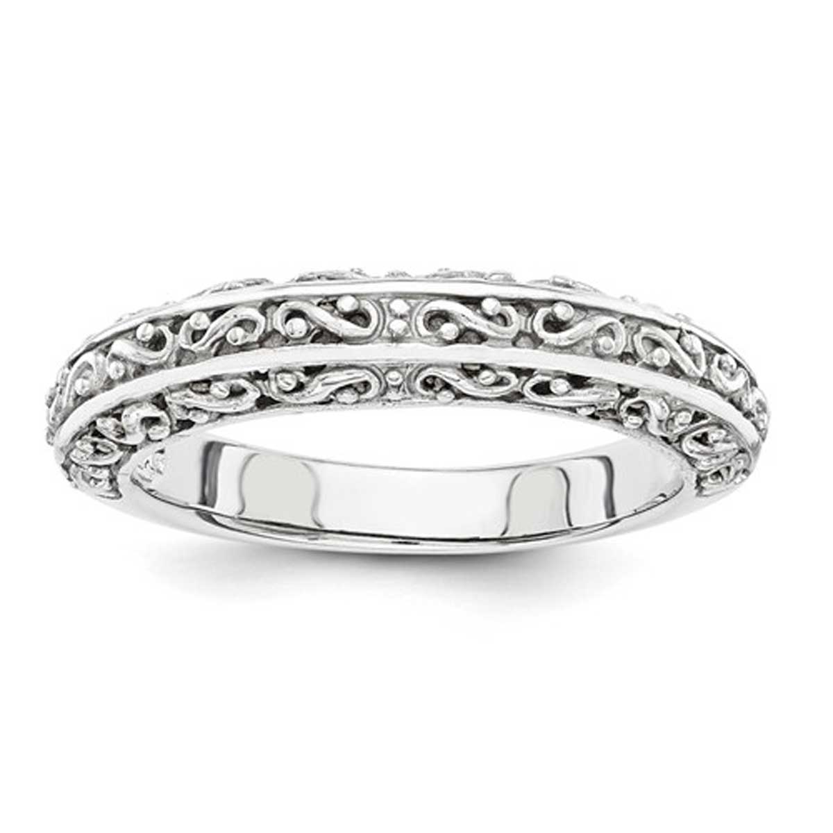 Scroll Design Stackable Band