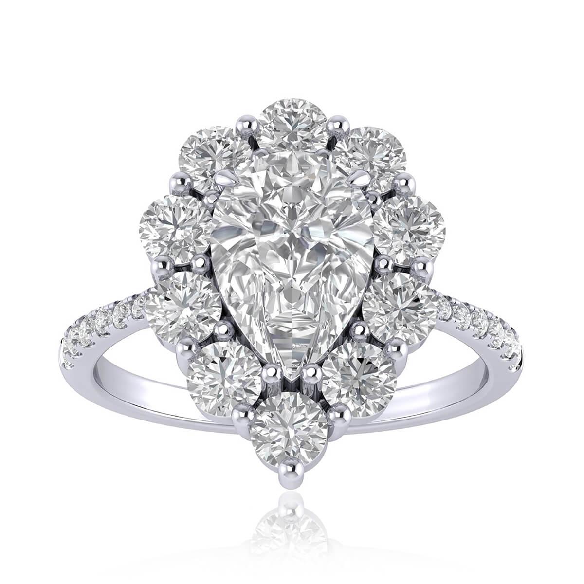 Love Story Diamond Ring