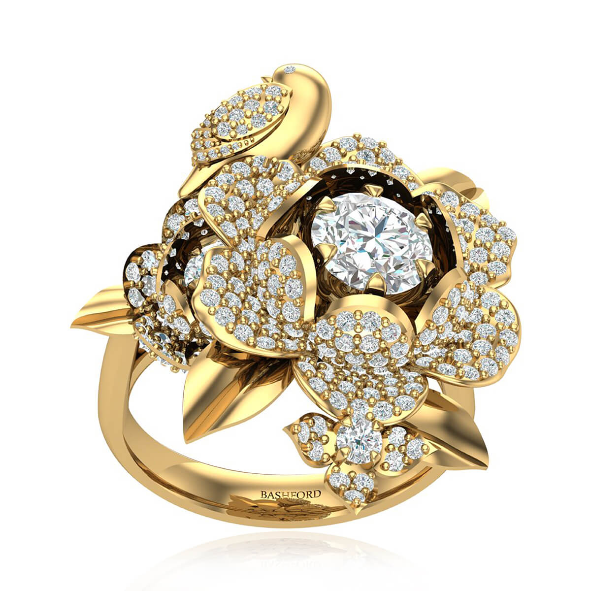 The Paradise Bird Diamond Ring