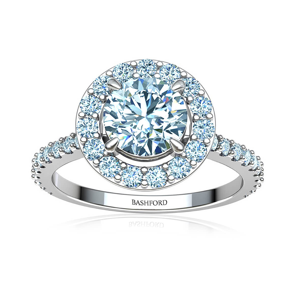 Fleur de Lis Diamond Ring