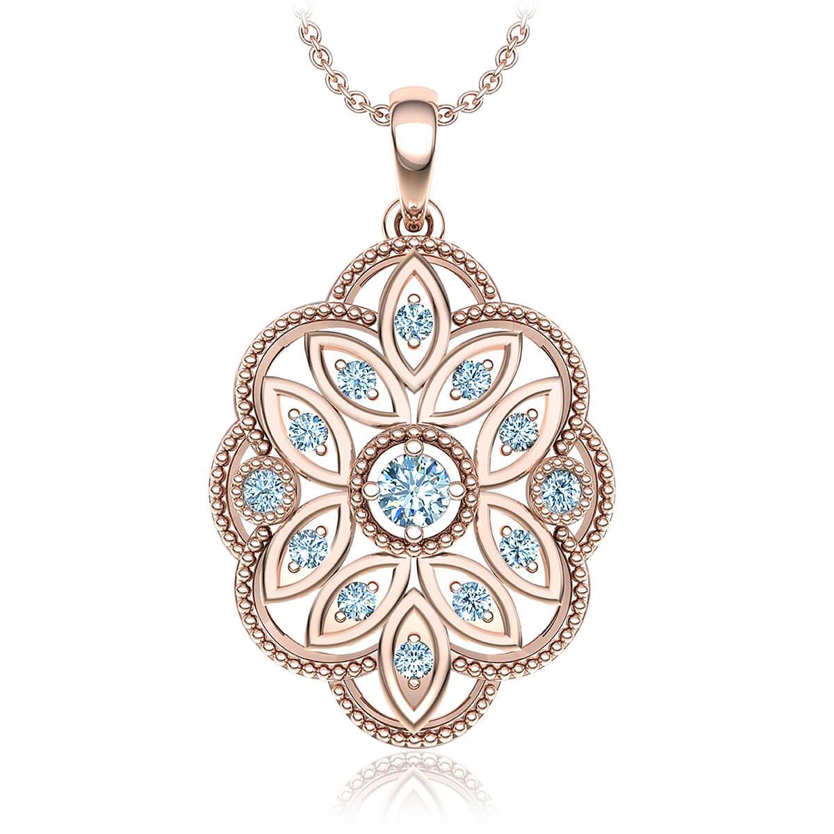 Zelda Diamond Necklace (1/6 CT. TW.)