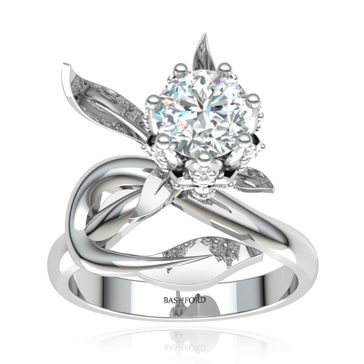 The Iris Diamond Ring