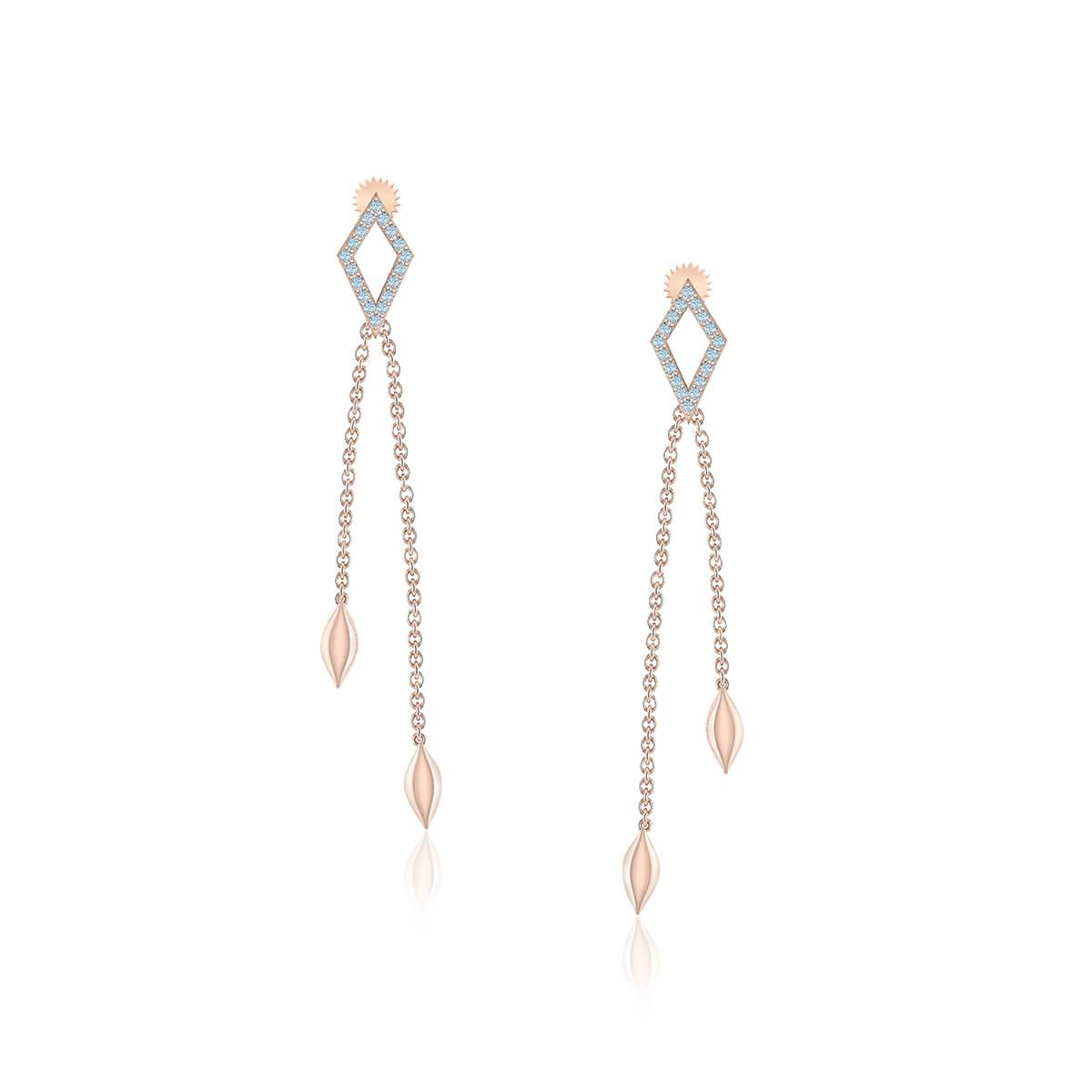 Bellatrix Diamond Earrings (1/6 CT. TW.)
