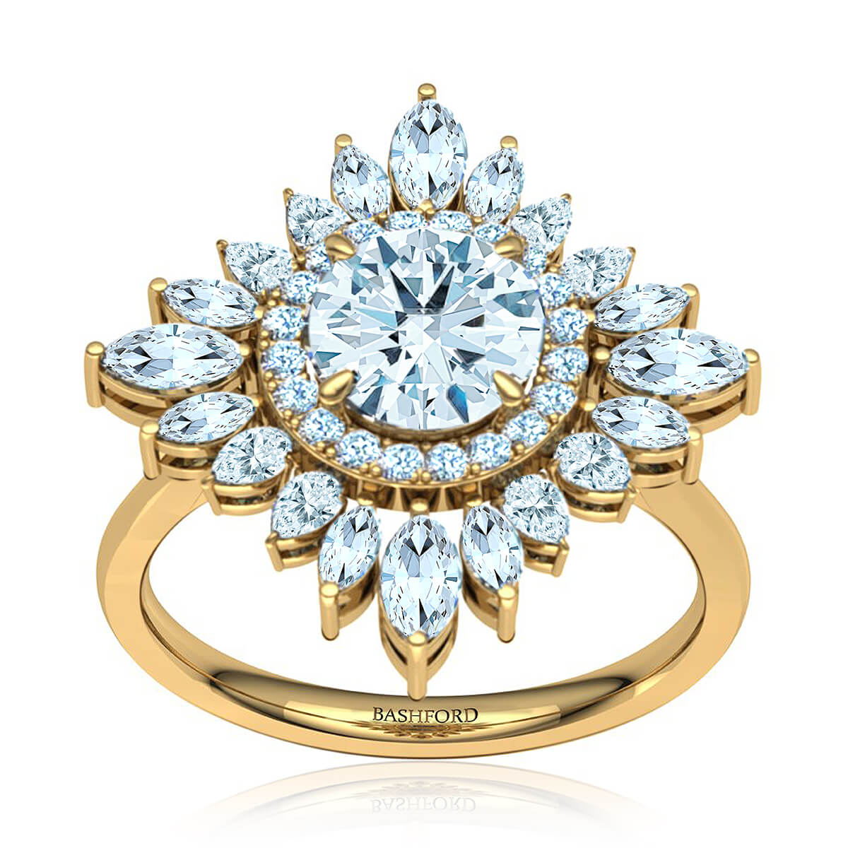 Zelda Diamond Ring