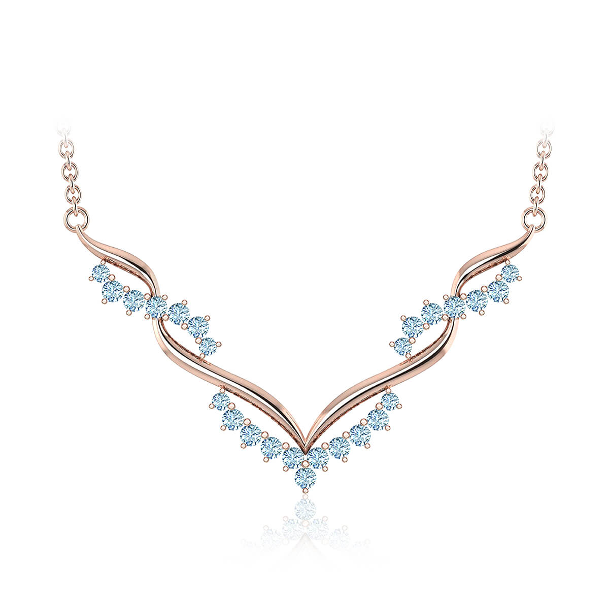 Adrasteia Diamond Necklace (5/8 CT. TW.)