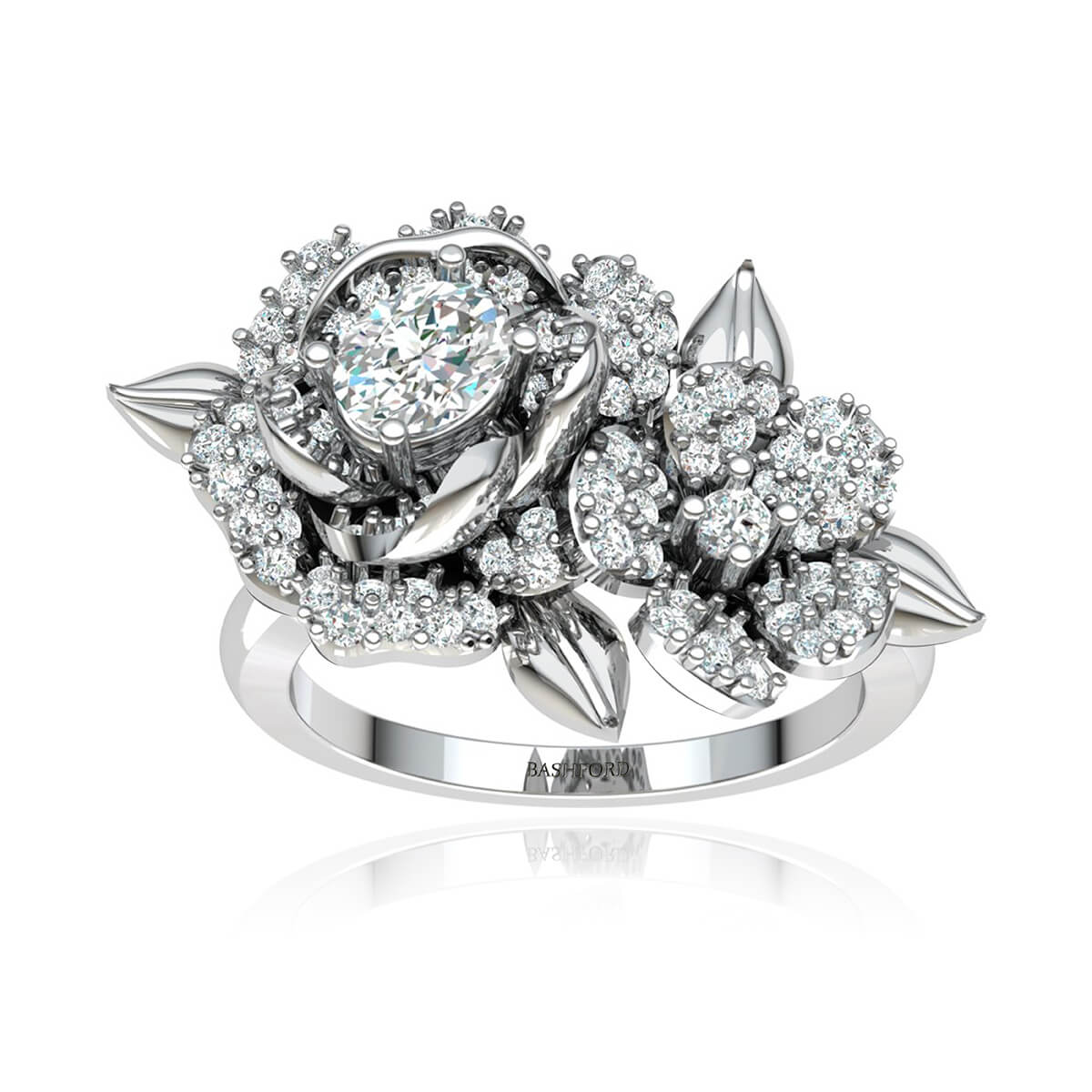 The Gardenia Diamond Ring