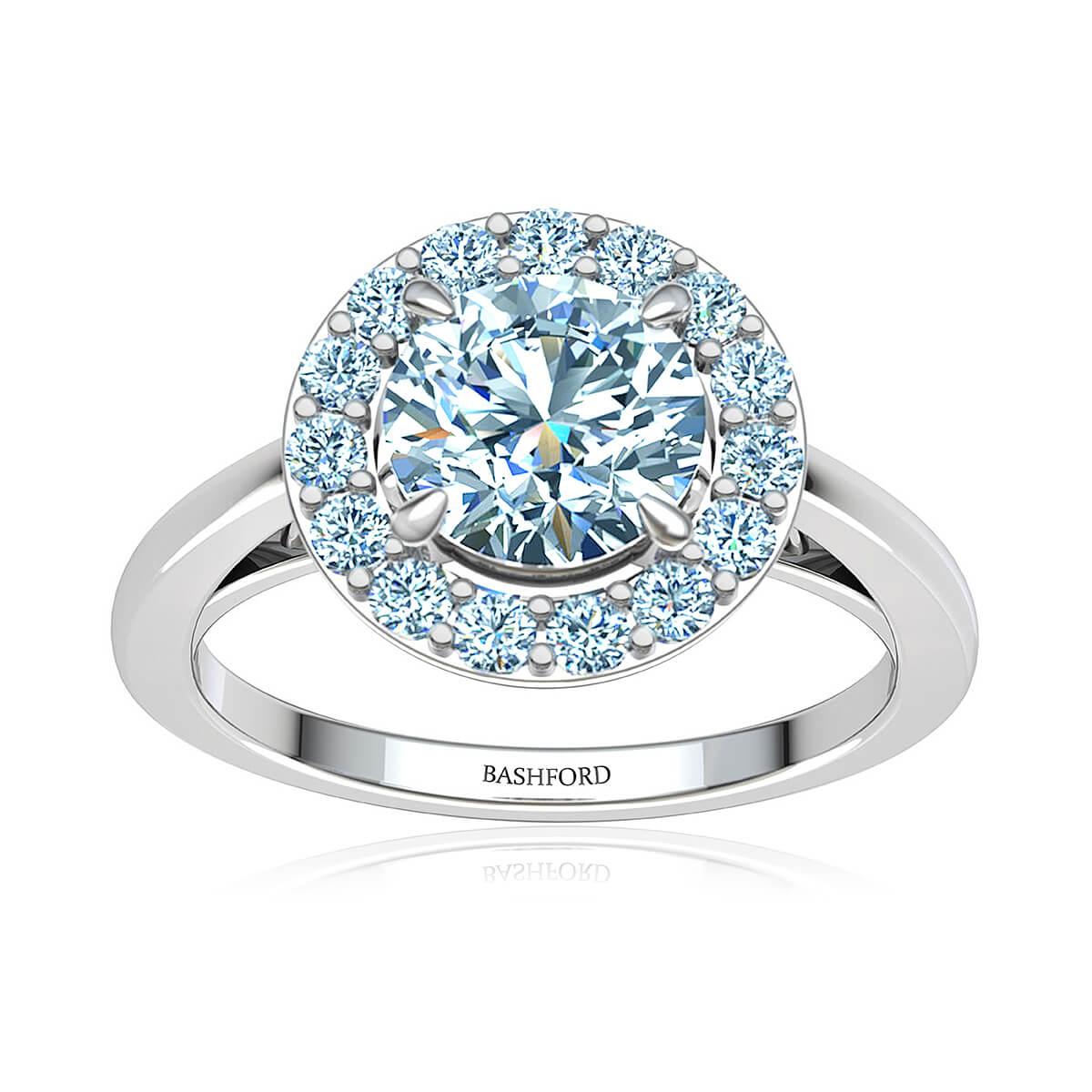 Campanula Diamond Ring