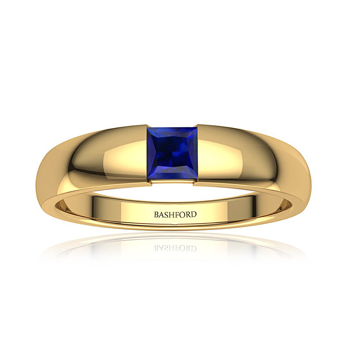 Azure Sapphire Ring (1/2 CT. TW.)