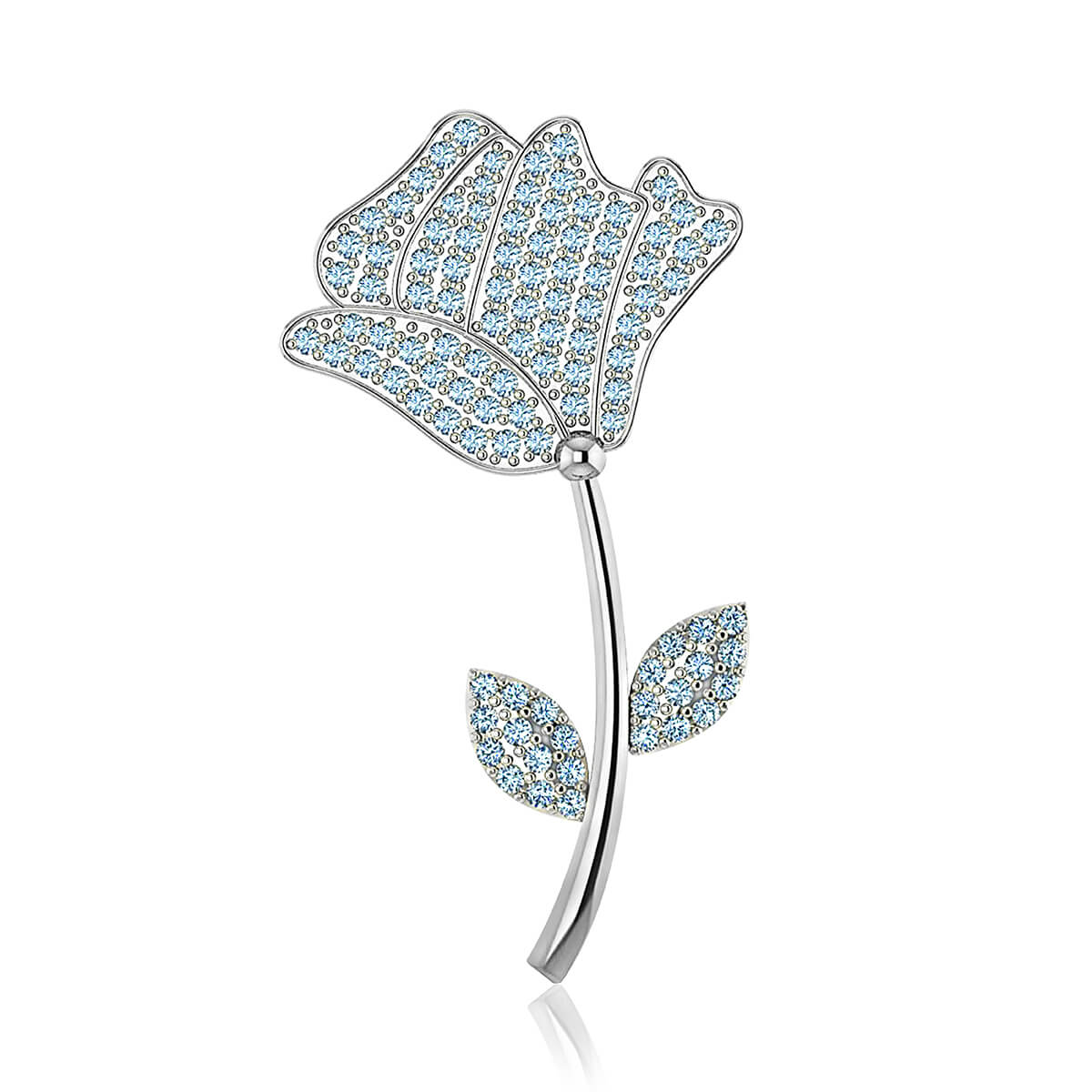 Tulip Diamond Brooch (1 CT. TW.)