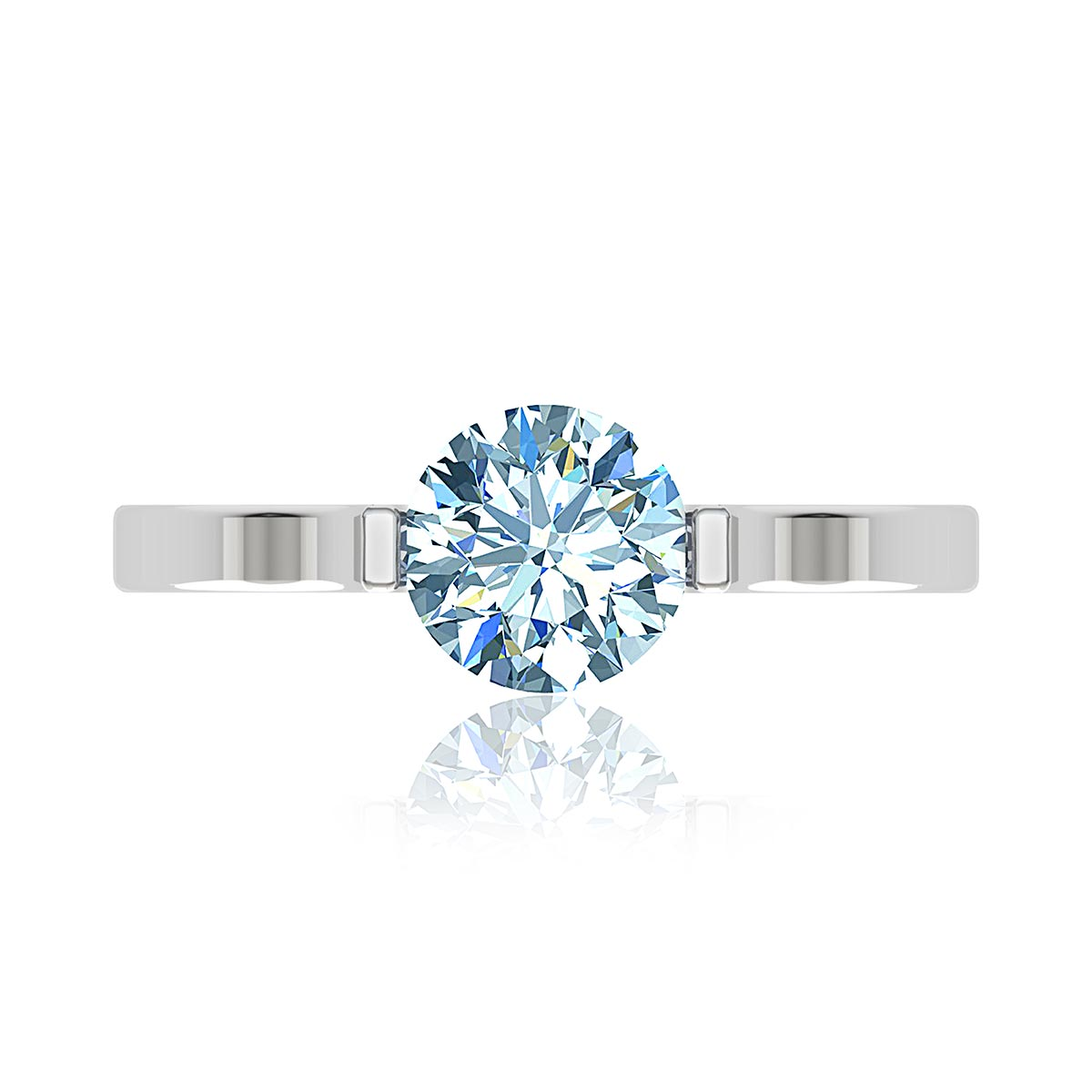 Mira Moissanite Ring