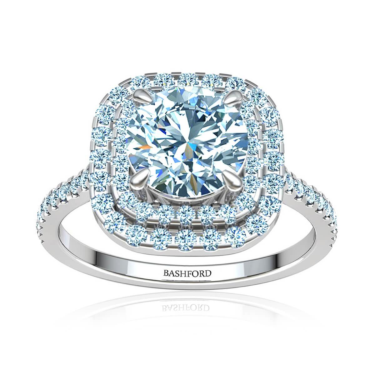 Roselette Diamond Ring
